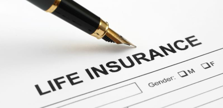 Image Showing Life Insurance Form.